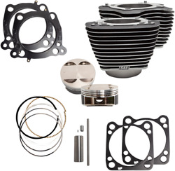 S And S Cycle 910-0625 124 Big Bore Kits For M-eight 107 Engines 17-19 Harley M8