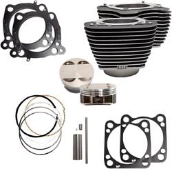 S And S Cycle 910-0684 128 Big Bore Kits For M-eight 114 Engines 17-19 Harley M8