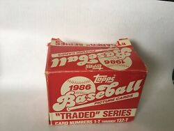 1986 Topps Traded Baseball Pick Your Card Complete Your Set $0.99