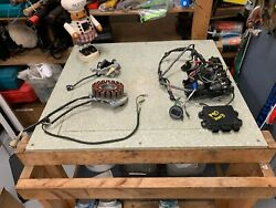 Yamaha Outboard 2003 F90 Electrical Panel Stator Comes W/ Computer And Harness