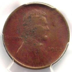 1922 No D Plain Strong Reverse Lincoln Wheat Cent Penny 1c - Pcgs Vf Details