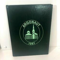 1981 Lynchburg College Yearbook The Argonaut Lynchburg Va