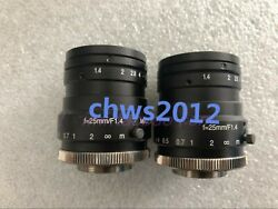 1 Pcs Kowa F=25mm F1.4 Lm25hc-sw Lens In Good Condition