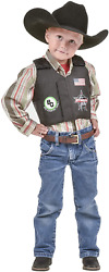 Big Country Toys Pbr Rodeo Vest - Kids Play Vest - Kids Bouncy Toy Accessory - -
