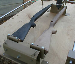 Stock Carving Duplicator, Stocks To Any Length , Plus Grips And Forearms