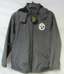 Pittsburgh Steelers Mens Size Large 3 Layer Soft Shell Bonded Jacket A1 2710