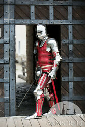 Medieval Warrior The King Maker Full Suit Of Armor Knight Body Armor Suit Uh F