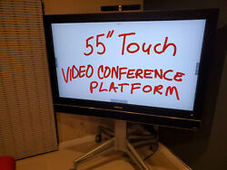 Infocus Inf5520 Multi-touch 55 I5 2.5ghz 4gb Video Conferencing System W/stand