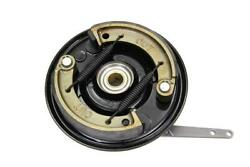 Black Front Brake Backing Plate Kit For Harley Ul 1937-and03948 El 1936-and03940 Fl And03941-48