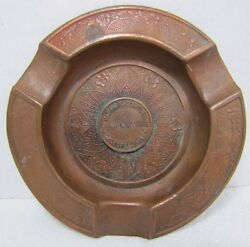 Howard Bros Co Card Clothing Worcester Mass Antique Advertising Cigar Ashtray
