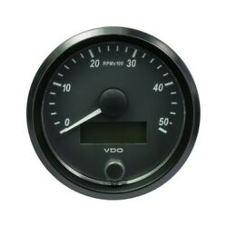 Vdo Singleviu Tachometer Gauge 5.000 Rpm 80mm-3 1/8and039 A2c3833000010 10 Pcs Boat