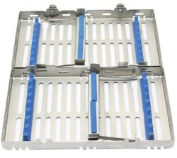 Infinity Series Dental Cassettes For 14 Instruments Double Stack Lot Of 20 Trays