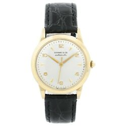 And Co. Vintage Automatic Movado Movement 14k Gold Unisex Watch