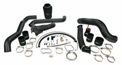 Wc Fab S300 Single Turbo Install Kit For 11-16 Lml Duramax Chevy Orange