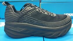 NEW Hoka One Bondi 6 1019270 BBLC Black Black Women#x27;s Running Shoes $99.00