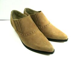Dan Post Dingo Womens Brown Leather Western Country Ankle Boots Size US 7 M
