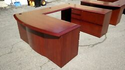 Desk U-shaped 3 Piece Wood 4 Creative Wood Products We Deliver Locally Nor Ca