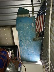 Columbia 9.6 32 Foot Sailboat Rudder In Great Condition