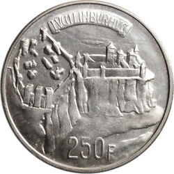 Luxembourg 250 Francs 1963, Unc, 1000th Anniversary - Luxembourg City