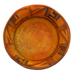 Polacca/hopi Dough Bowl C. 1880s-90s 4.75 X 11.25 Sold As Is