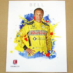 Townsend Bell 2016 Indy Car Hero Card Photo 100th Indianapolis 500 29 Andretti