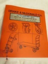 1990's Catalog Lot Truck Casters Wheels Bassick Faultless Darnell Nutting Dutro
