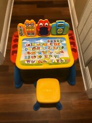Vtech 80-194801 Touch And Learn Activity Desk, Pre-owned In Great Condition