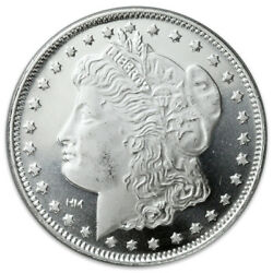 Morgan Dollar Design 1 Troy oz .999 Fine Silver Rounds SKU31046 $30.28