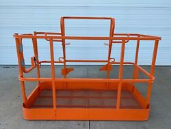 New Jlg 6and039 Platform Side Entry Basket Manlift Bucket - Free Shipping