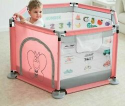 Children Ball Pool Playpen Game Fence Security For Newborn Indoor Safety Barrier