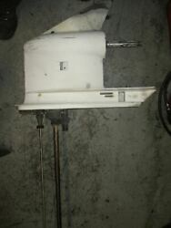 Evinrude Etec 90hp Outboard Lower Unit With 25 Shaft