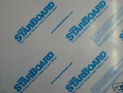 """Gray King Starboard Hdpe Polymer Plastic Sheet 1/2"""" - 0.500 You Pick The Size"""