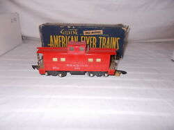 American Flyer 630 Lighted Caboose In Original Box Lot L-103
