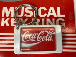 ☆coca-cola Musical Key Chain By Potomac Products Vintage 1990 New Sealed Working