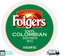 Folgers 100 Colombian Decaf Keurig Coffee K-cups You Pick The Size