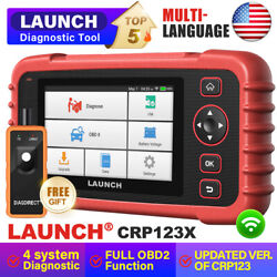 2020new Launch X431 Crp123 X Pro Obd2 Car Diagnostic Scanner Fault Code Reader