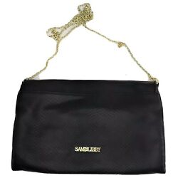 Sam amp; Libby Navy Evening Bag Long Chain Crossover Bag Faux Leather $17.49