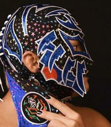 Bushi Mask With Autograph New Japan Pro-wrestling Free Shipping From Japan