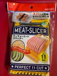 New Easy Spam Cutter Musubi Slicer Stainless Steel Wires Lunche On Meat Slicer