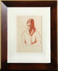 Pablo Picasso Pour Mon Fils Raul Lithograph Signed In The Plate