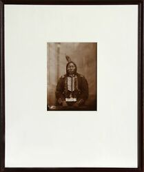 David Frances Barry Crow King Sioux Indian Chief Photograph