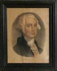 Currier And Ives, George Washington, Hand-colored Lithograph