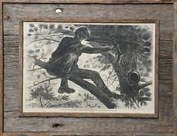 Winslow Homer Army Of The Potomac Sharp Shooter Engraving