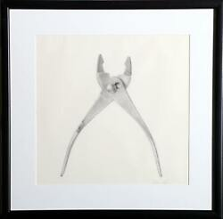 Richard Stenhouse, Adjustable Wrench, Graphite On Paper, Signed L.r.