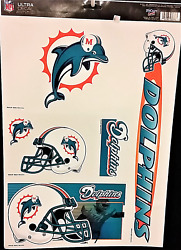 Miami Dolphins Ultra Decals