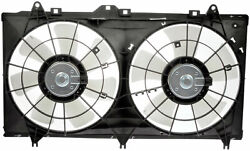 Radiator Fan Assembly Without Controller Dorman 620-579