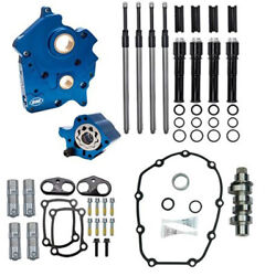 Sands M8 Cam Plate Oil Pump Kit Package Black 475c Chain Harley Touring Softail
