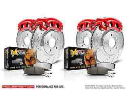 Power Stop Kc4131-36 Z36 Truck And Tow 1-click Brake Kit W/calipers For E-150