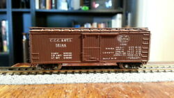 Con-cor Cccandsl Nyc New York Central 40' Boxcar 56144 Lightly Weathered + Body M