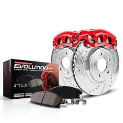 Power Stop Kc3127 Power Stop 1-click Brake Kit W/calipers For Rear Acura Tsx